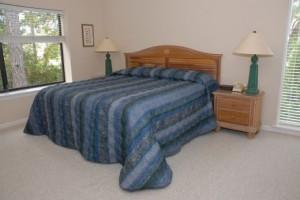 Heritage Villas Master Bedroom