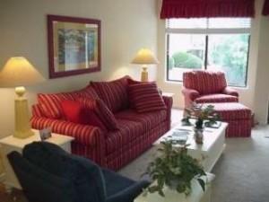 Courtside Villas Living Room